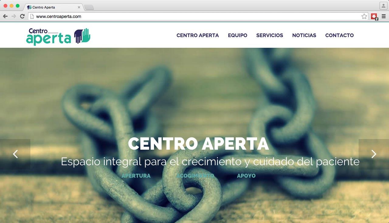 Web Centro Aperta